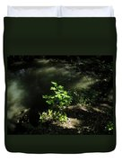 River In The Woods Duvet Cover