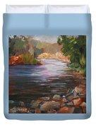 River Light Duvet Cover