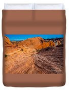 River Of Erosion Duvet Cover