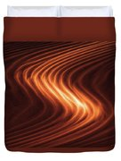 River Of Fire Duvet Cover