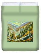 River Of Life Duvet Cover