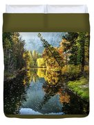 River Reflections Duvet Cover
