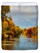 River Thames At Staines Duvet Cover