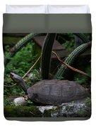 River Turtle 1 Duvet Cover