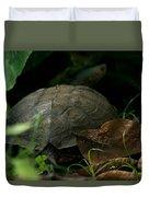 River Turtle 2 Duvet Cover