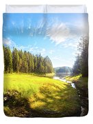 River Valley Duvet Cover