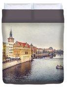River Vltava Duvet Cover