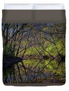 River Walk Reflections Duvet Cover