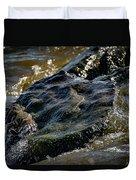 River Washed Rock Duvet Cover
