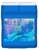 Distractions From The River Waters Duvet Cover