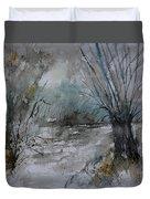 River Watercolor 711082 Duvet Cover