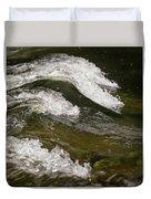 River Waves Duvet Cover