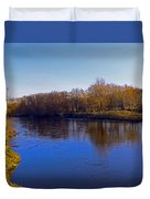 River Wye,herefordshire Uk Duvet Cover