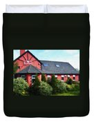 Riverbank Restaurant Riverstown Ireland Duvet Cover