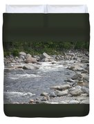Rivers Of New Hampshire Duvet Cover