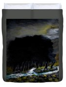 Riverside Tree Grove Duvet Cover