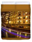 La Mansion Del Rio Riverwalk Christmas Duvet Cover