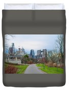 Riverwalk - Philadelphia Duvet Cover
