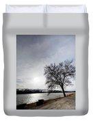 Riverwalk Tree Duvet Cover