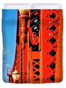 Riveting Image Duvet Cover