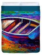 Riviera Boat IIi Duvet Cover