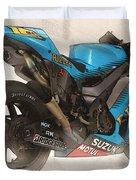 Rizla Suzuki Gsv - R Duvet Cover