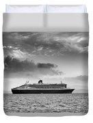 Rms Queen Mary 2 Mono Duvet Cover