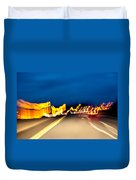 Road At Night 2 Duvet Cover