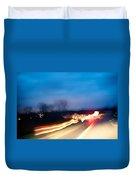 Road At Night 3 Duvet Cover