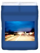 Road At Night 5 Duvet Cover