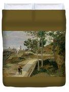 Road From Volterra Duvet Cover