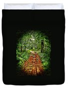 Road In The Wilderness Duvet Cover