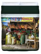 Road Side Store Philippines Duvet Cover
