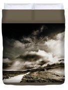Road Storm Duvet Cover