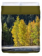 Road To Autumn Duvet Cover