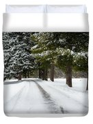 Road To Bishop's House Duvet Cover