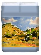 Road To Duck Creek Duvet Cover