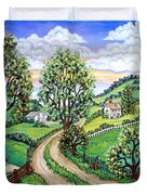 Road To Home Duvet Cover