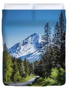 Road To Hope Duvet Cover