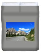 Road To Jasper Duvet Cover