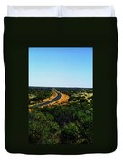 Road To Nowhere Duvet Cover