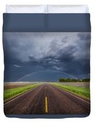 Road To Nowhere - Rainbow Duvet Cover