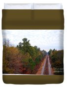 Road To Somewhere Duvet Cover