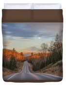Road To The Moon Duvet Cover