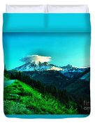 Road To The Mountain  Duvet Cover