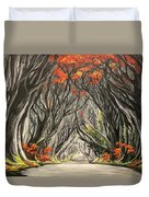 Road To The Throne Duvet Cover