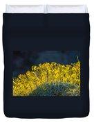 Roadside Flowers Duvet Cover