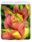 Roadside Lily Duvet Cover