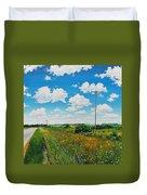 Roadside Prairie Duvet Cover