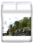 Roadside Rocks Duvet Cover